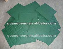 EN1177 elastic safe play rubber tile