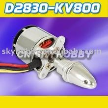 D2830-800kv RC Outrunner moteur Brushless pour les aéronefs