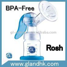 mom manual breast milk pump non-toxic