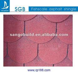 Round Fiberglass Roofing Shingle