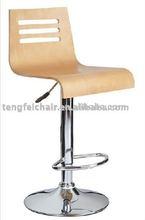 popular wooden swivel bar stools TF-731