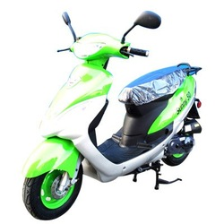 Gas Motor Scooter Equipped with 4 Stoke 80cc Engine WZMS0801