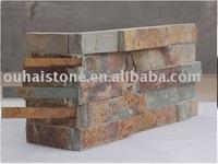 Natural Corner culture stone rusty slate