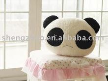stuffed plush children's animal pillow toy,panda cushion