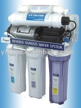6stage with plastic uv household water purifier