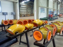 rubber lined steel pipe in minerals & metallurgy