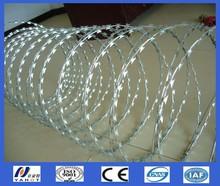 hot dipped /electric galvanized Razor Wire