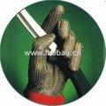 aço inoxidável corte luva resistente