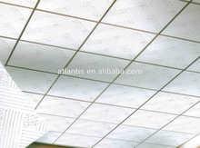 Linyi ATLANTIS 7 - 12.5 mm varios desighs PVC laminado de yeso azulejos de techo para la decoración uso