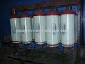 Tanque de gnv cilindro 50-200l 20 mpa, tipo - eu/ii para o veículo