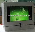 """21.5"""" ' stazione di rifornimento pompa pannello lg acqua - prova esterno media display, rete remoto di accesso wifi media schermo digitale"""