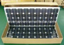 IEC and UL 90W Mono solar panel