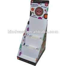 CD/DVD cardboard counter top display for kids