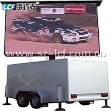LCF PH12 outdoor full color led move truck screen