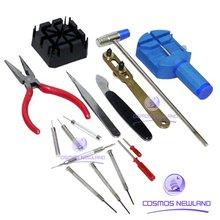 16 pcs Watch Repair Tool Kit Opener Remover