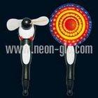 32-Pattern Flashing Cute-piggy Fan w/Pen Penguin