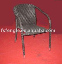 aluminium wicker chair TW-R2145
