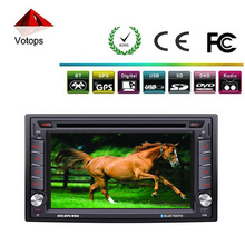 Universal car multimedia touch screen hd car dvd player gps/