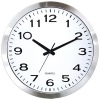 Metal Wall Clock, Aluminum Clock