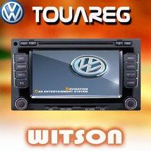 WITSON VW Touareg Auto Radio / DVD+VW Touareg Car Navigation+VW Touareg Headunit+Digital Touch screen+MFD+TMC