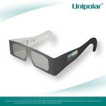 Cheap paper circular polarized 3d glasses
