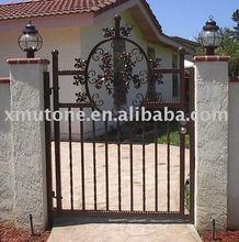Residential iron gates