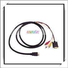 HDMI HDTV To VGA 3 RCA Converter Cable 1080p (Cable)