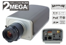H.264 Megapixel IP Camera (with POE built-in,3g,Wifi Function)