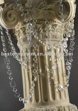 30ft Clear Acrylic Crystal Bead Strands