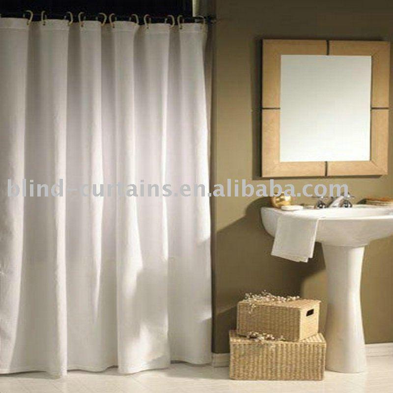 Cortinas De Baño La Plata:Baño de la cortina blanca nuevo estilo-Cortina -Identificación del