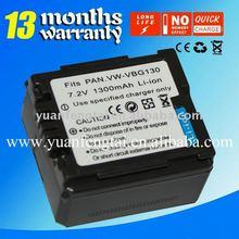 Digital Camcorder Battery for Panasonic VW-VBG130
