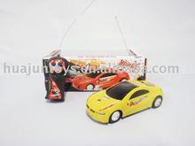 2 channel rc car, sport reactor, plastic toys