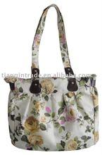 2011 autumn fashion lady canvas tote bag