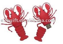 lobster usb drive /food usb /Private mould USB