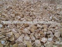 Decorative colored garden stone gravel