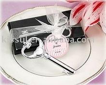 "Wedding favors ""Key to My Heart"" Victorian Style Bottle Opener"