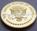 los estados unidos de américa de oro personalizadas de la moneda de recuerdo