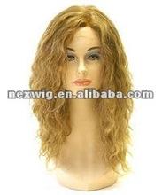 Curly Heat Resistant Kanekalon Fiber Full Synthetic Wig