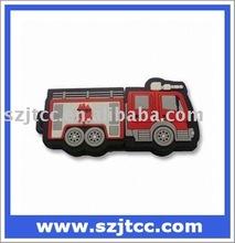 Fire Fighting PVC Car USB Flash Drive 512MB 1GB Gift USB Flash Memory Stylish USB Flash Memory