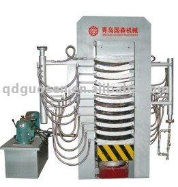 prensa hidráulica para el curvado de madera maciza