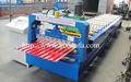 Aluminium porte volet roulant formant la machine pour l'entrepôt