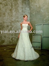 Drop Shipping Beaded bridal gown 2012