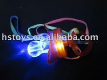 flashing nipple,led pacifier