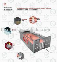 BLT bulk molasses flexiank packaging