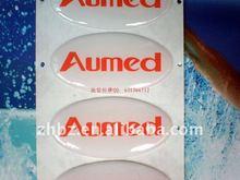 2012 hot crystal epoxy resin sticker