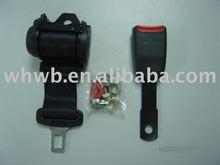 Automatic 2 points car seat belt