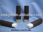 oval PE tube