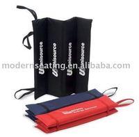 foldable outdoor or stadium seat cushion