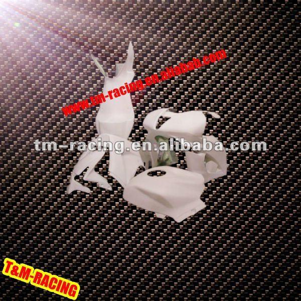 Moto carenagem de fibra de vidro para hond cbr600rr 2007-2008