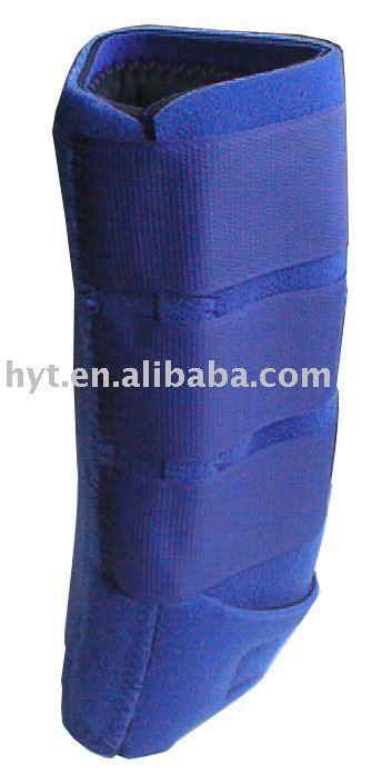 blue Neoprene horse Leg wrap
